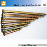 Torx винт бетона цинка головки T30/25 желтый