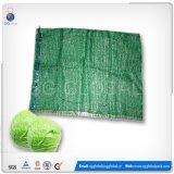 Sac à rayures en tissu HDPE Raschel pour légumes