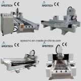 Steinmarmor CNC-Gravierfräsmaschine mit sah Ausschnitt