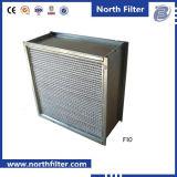 Filter van de Lucht van het Type van Doos van de Plooi ULPA van de hoge Efficiency de Diepe voor Systeem HAVC