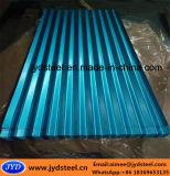 上塗を施してある亜鉛によって波形を付けられる鋼鉄屋根ふきシートを着色しなさい