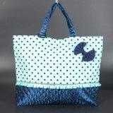 2016環境の綿のショッピング・バッグはFoldable再使用可能なショッピング綿袋を中国製卸し売りする