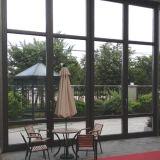 Örtlich festgelegtes Aluminiumfenster mit ausgeglichenem Glas für Sun-Raum