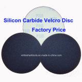 Esmeril del carburo de silicio con Velcro