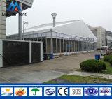 研修会に使用する産業倉庫のテント