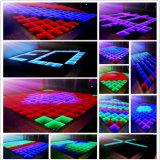 Luz durable del piso de baile del panel del espejo del LED