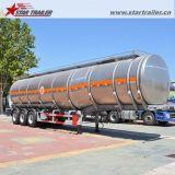 ステンレス鋼材料が付いている半食品等級のタンカーのトレーラー