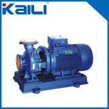 Pompe horizontale de pipe de pompe centrifuge (ISW)