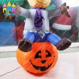 Halloween LEDの精神の祝祭によってカスタマイズされる膨脹可能なカボチャランプの装飾
