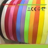 Деревянное кольцевание края PVC цвета зерна