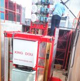 Ascenseur extérieur de levage de pont en matériau de construction de GV de la CE d'OIN
