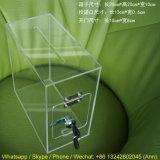 Sperrung des Acrylbeschaffenabgabe-Münzkassette-Behälters mit Nocken-Verschluss