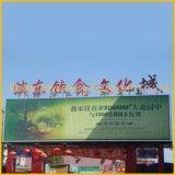 Het lange Geïnstalleerdee Aanplakbord Trivision van de Grootte Dak