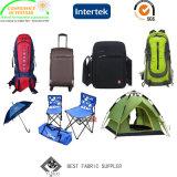 Ткань 100% Backpack шотландки полиэфира 600d PU Coated Ripstop