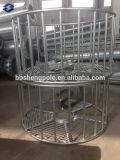 Tour de l'acier en plastique revêtue de poudre