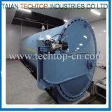ガラス繊維の処置のための1500X4500mm Asme公認の中国の合成のオートクレーブ