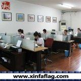 Indicateurs faits sur commande de Swooper de polyester, drapeaux d'étalage