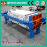 Machine chaude de filtre-presse d'huile de noix de coco de vente, machine de filtre à huile