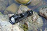 Aluminiumlegierung-Taschenlampe des Strohhut-LED (556)