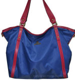 Moda Nylon com couro / PU Lady Tote Handbag / Hight Quality (BS12847)