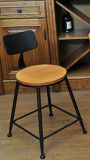 Cheap Price를 가진 단단한 Wood Loft Coffee Chair