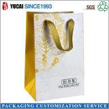 Bolso de compras de papel del bolso cosmético modificado