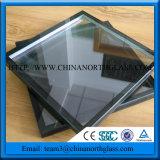 중국 제조 장식적인 Tempered 박판으로 만들어진 격리한 유리제 가격, 가격은 낮은 E 유리를 격리했다