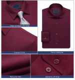 Style italiano Mens Shirts Latest Style Fashion Dress Shirts per Man