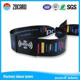 NFC Gewebe gesponnener RFID Wristband für Festival-Partei-Ereignis