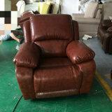居間の家具、ホーム家具、革リクライニングチェアのソファー(GA08)