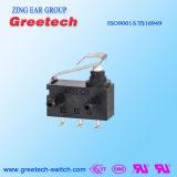 Wasser und staubdichter (IP67) Mikrogleitschalter für Haushaltsgerät-Drucktastenschalter