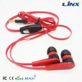 Écouteur de vente chaud d'écouteur de câble plat