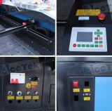 Machine de découpage de laser de commande numérique par ordinateur avec le mécanisme alimentant automatique