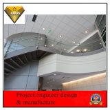 Rete fissa di vetro dell'acciaio inossidabile per costruzione