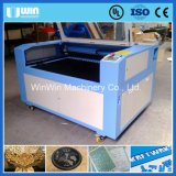 Máquina de gravura de papel de madeira acrílica do CO2 do corte do metal da tela do laser