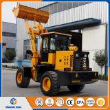 異なった作業接続機構が付いている中国の製造業者のお偉方の車輪のローダー