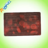Cr80 30 Mil Graphic Quality Clear Plastic Business Cards