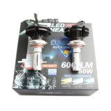 Faro chiaro della lampadina 50W LED del kit X3 9012 6500k LED di conversione con l'indicatore luminoso 6000lm dell'automobile del LED