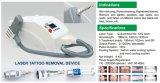 CER anerkannter bester Tätowierung-Ausbau Ndyag Laser