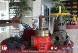 Worm engrenagem do acelerador Esvaziamento válvula de bloqueio