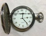 Analog Quartz Pocket Watch with Train