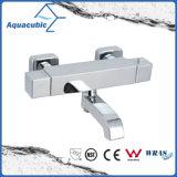 Robinet thermostatique anti-ébullition chromé en laiton pour salle de bains en laiton (AF4211-7)