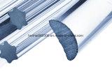Profil-Glasgefäß für Lampe