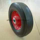 Schwere Eingabe-breites Laufflächengummi-festes Rad (10*2.5)