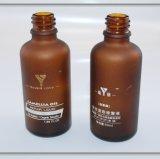 frasco 50ml de vidro ambarino para o empacotamento do petróleo da essência