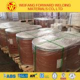 上塗を施してある銅の等級のガスによって保護される溶接ワイヤ: Er70s-6