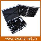 500W Portabel Mobile Solar Power Station Home Solar Electricity Generation System
