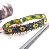 Colliers fabriqués à la main de foulard de configuration de lame de fleur de crochet de type de la Bohême