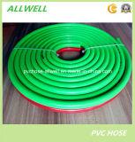 Boyau en plastique jumeau de soudage à l'acétylène de l'oxygène d'air de PVC de tuyau