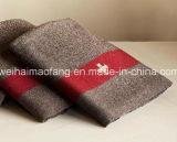 30%のウールの/70 %Polyesterの軍隊の/Military編まれた毛織の毛布(NMQ-AB006)